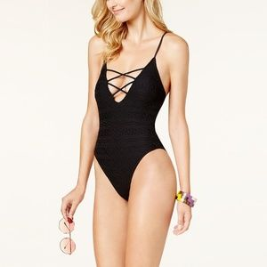 Hula Honey Little Wild One Crochet One Piece L